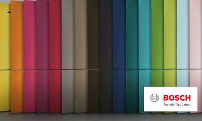 Bosch Kühlschrank Schalter Innen : Bosch vario style farbige fronten für ihren kühlschrank ihr